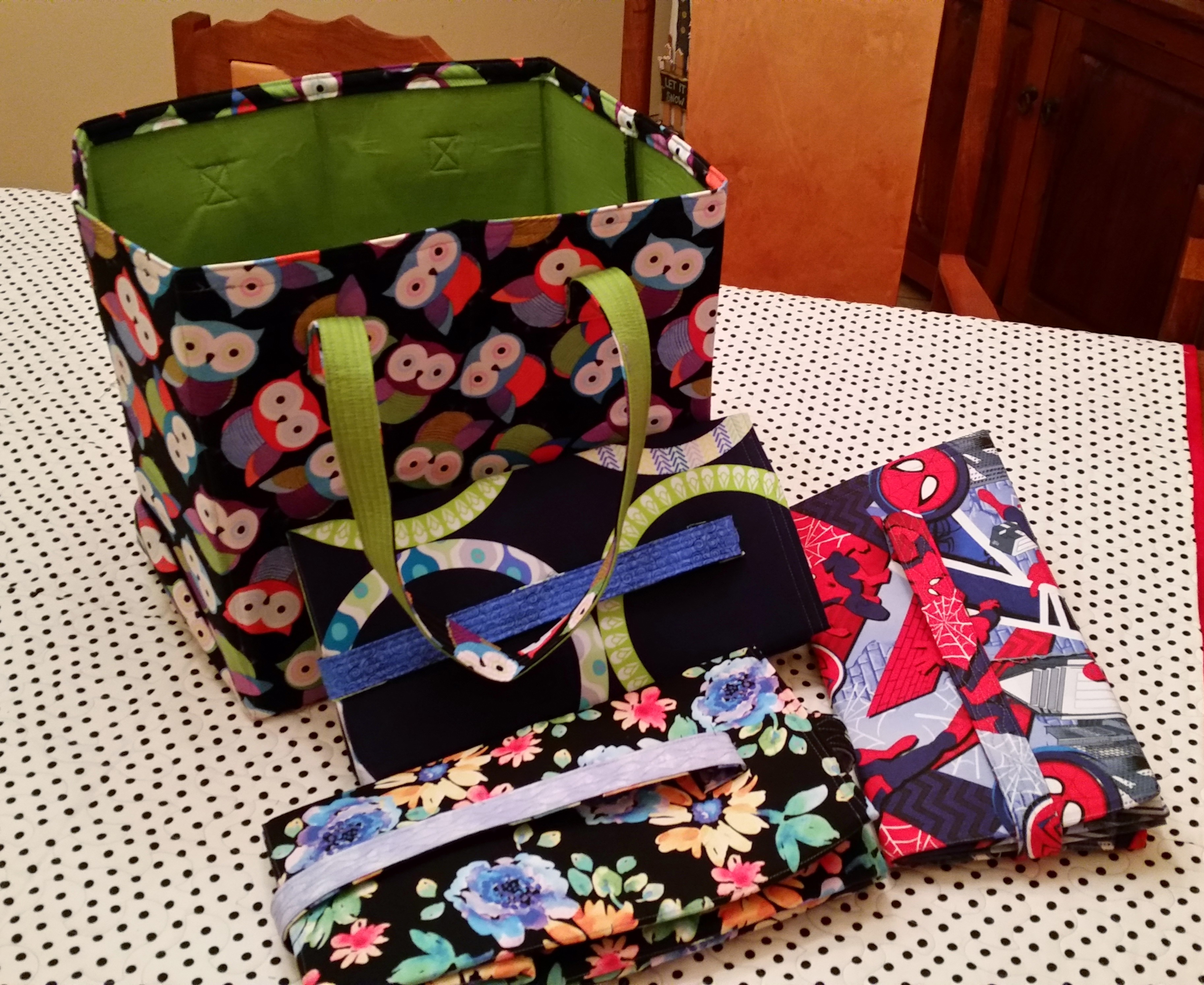 Atkinson Designs Stand N Stow : November st project grocery bags