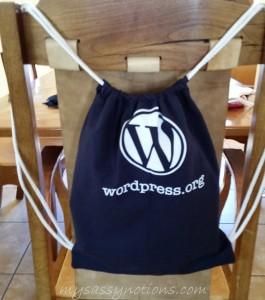 wp tshirt backpack