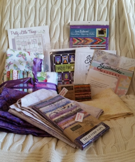 Quilting fabric, patterrns, and booklets