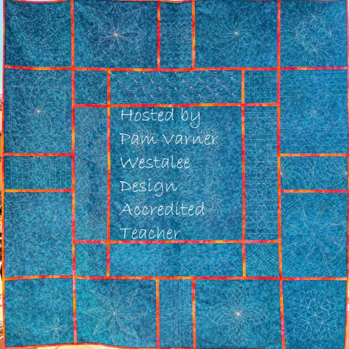 QAYG Westalee Template Quilted by Pam Varner